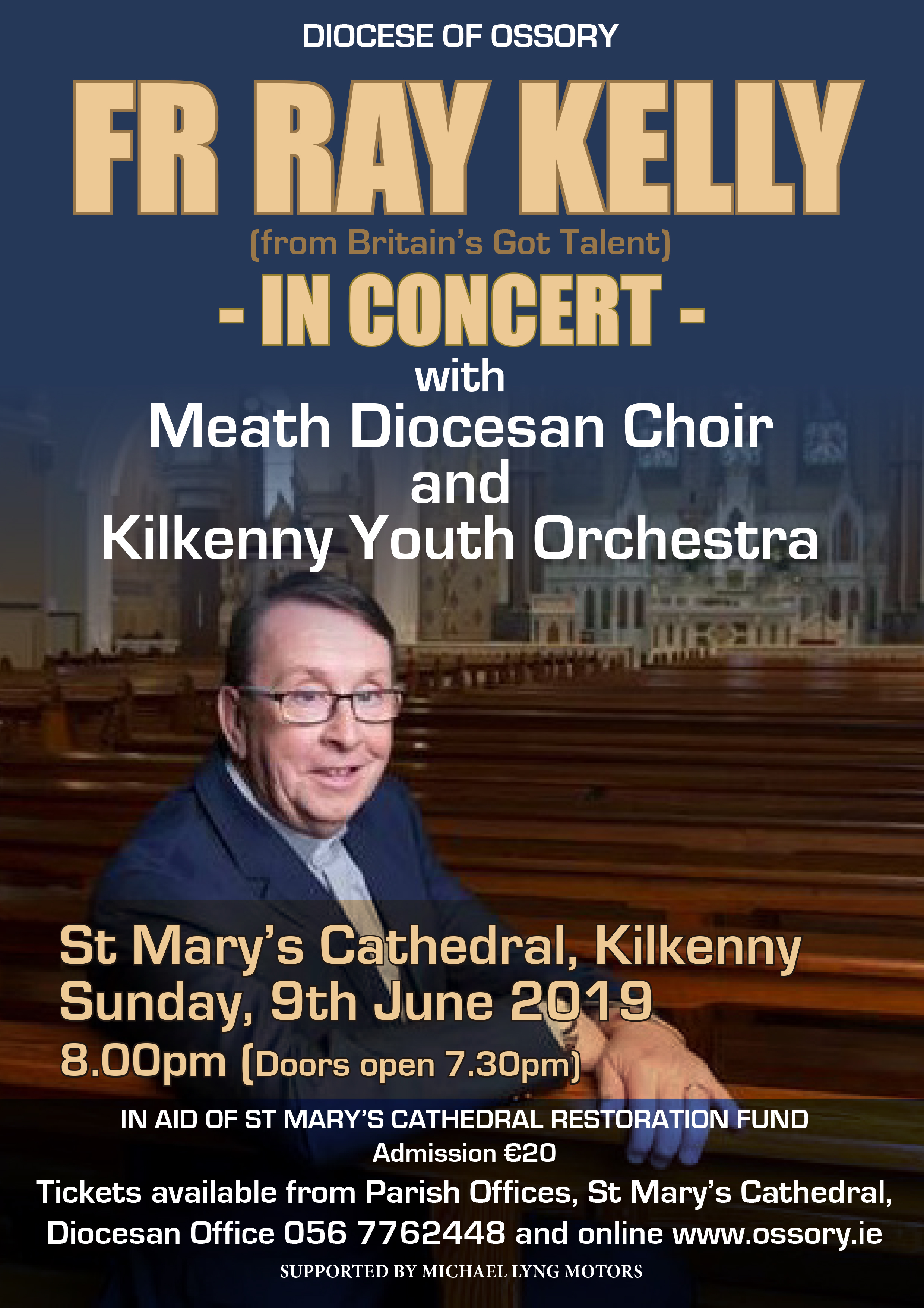 Fr Ray Kelly in Concert @ St Mary's Cathedral