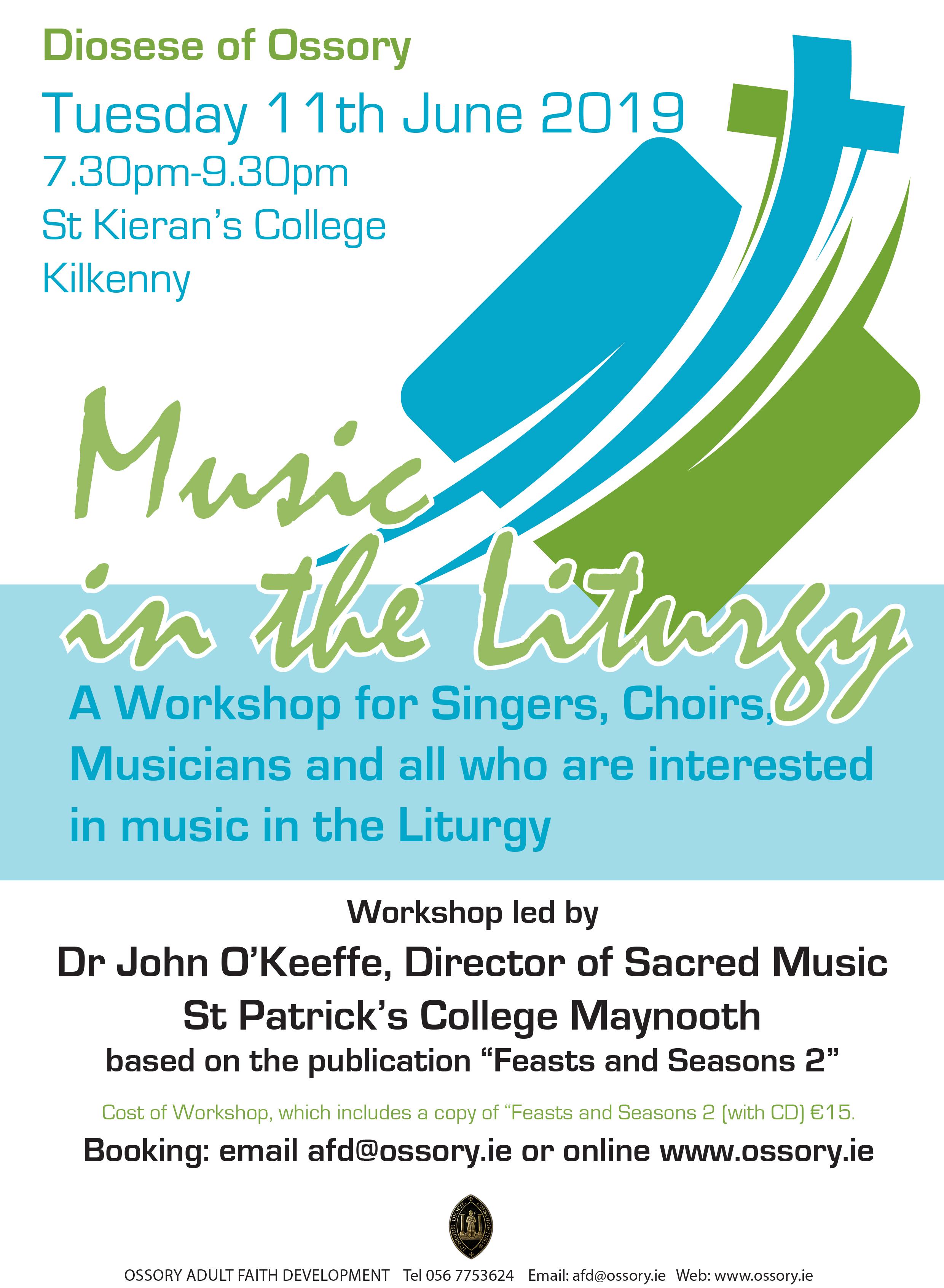 Music in the Liturgy @ St Kieran's College