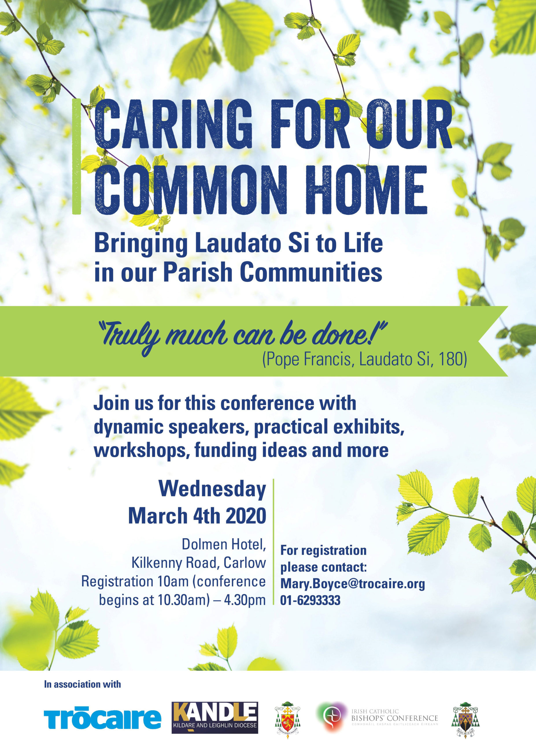 Caring for our Common Home Conference @ Dolmen Hotel