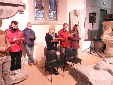 St. Mary's Abbey, Gowran, Evening Prayer for Cluster Parishes of Clara, Gowran & Tullaherin